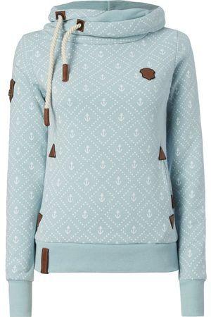 Damen Sweatshirts - Naketano Hoodie mit Anker- und Sternen-Print