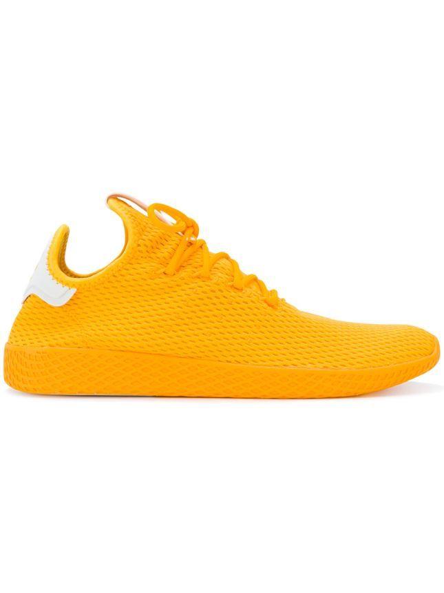 d4003faa5493 Women Trainers 2019 New Fashion Women Adidas By Pharrell Williams Adidas  Originals X Pharrell Williams Tennis Hu Sneakers (Yellow   Orange Colligetgold)  ...