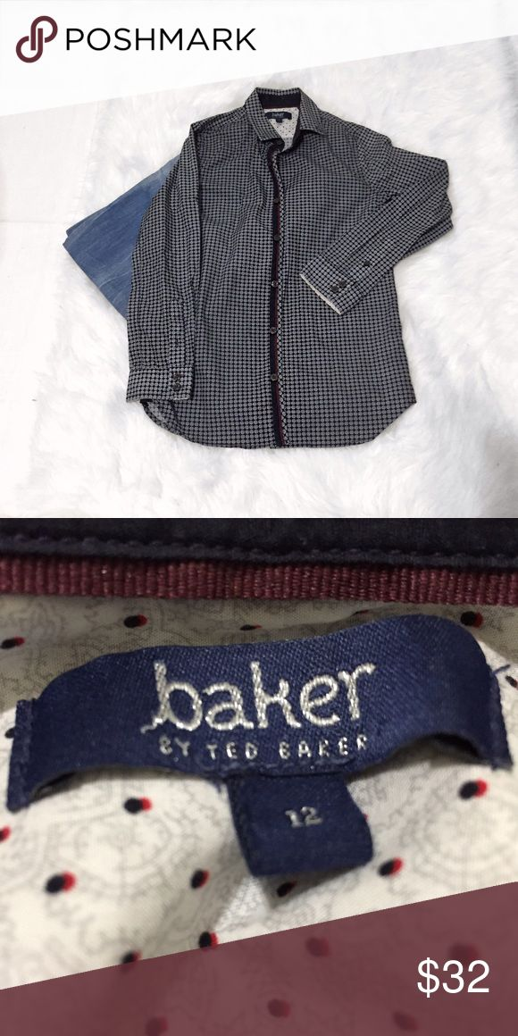 ✨ Baker by Ted Baker Children's Shirt ✨ Shows no signs of wear. Very sharp for your little man! 💯% cotton. Ted Baker Shirts & Tops Button Down Shirts