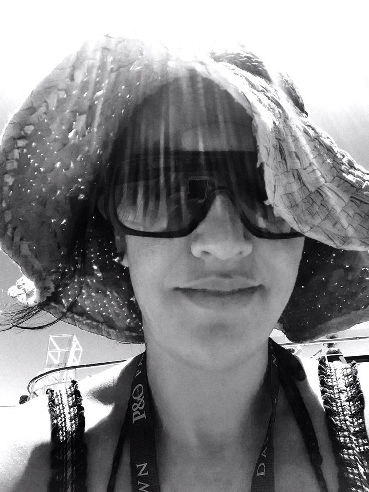 Sunning!