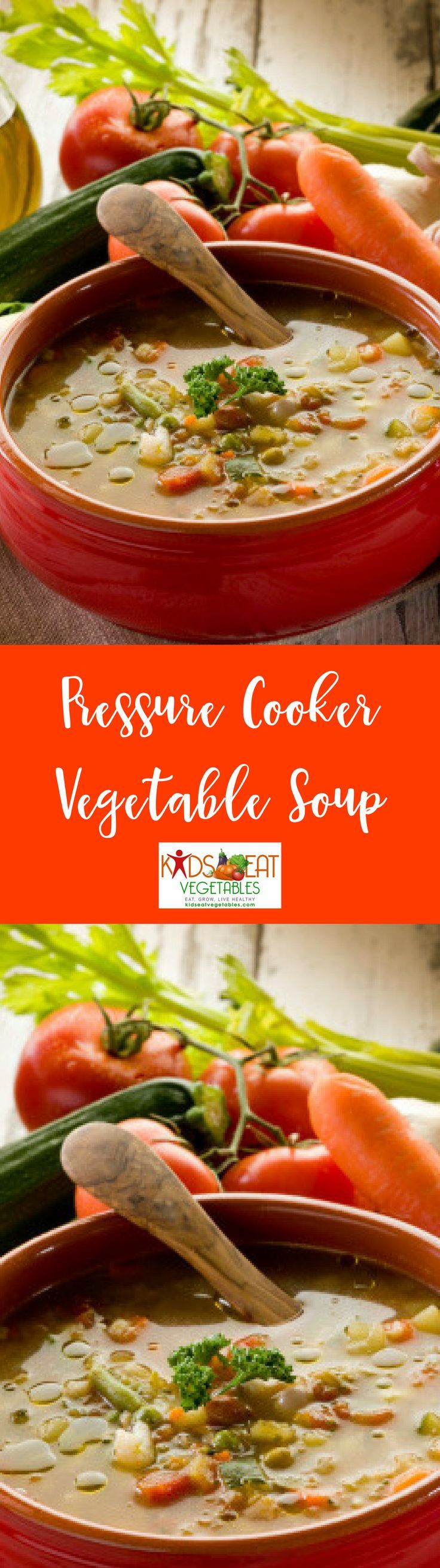 A pressure cooker vegetable soup is perfect for cold weather. It's fairly common to crave for something hot to eat during fall or winter. Unfortunately, not everyone has the time to watch a pot of soup cook for a long time. Admittedly though, a vegetable