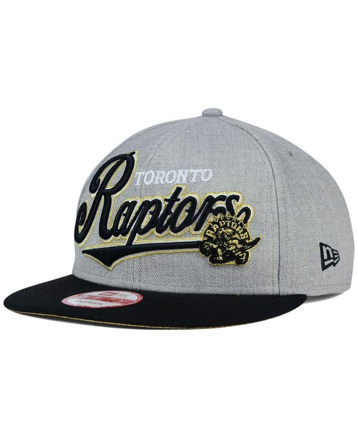 New Era Toronto Raptors Big Heather 9FIFTY Snapback Cap