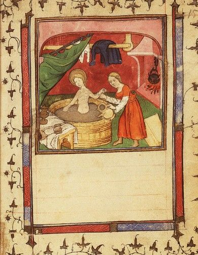 bathing in the Middle Ages - medievalists.net