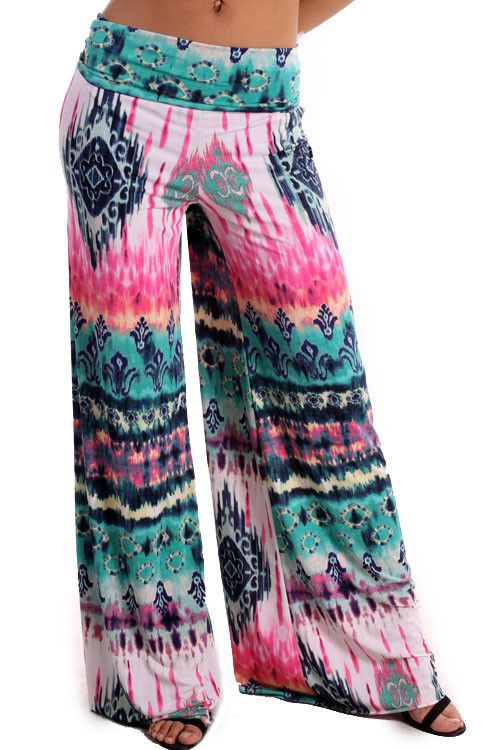 Paint Party Palazzo Pants Plus Size (1XL-3XL) – Texas Two Boutique