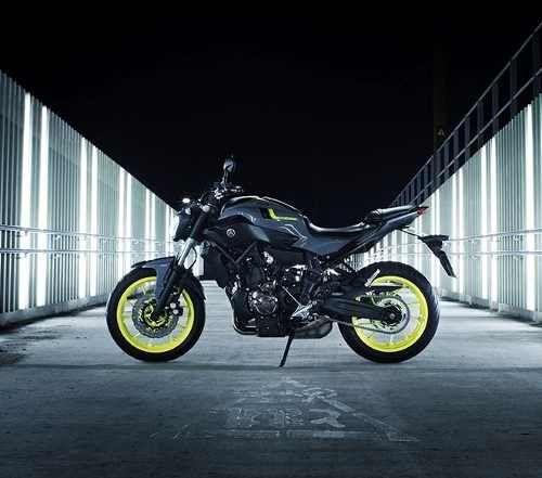 moto yamaha mt 07 0km gris 2016