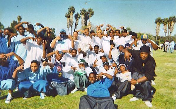 There is 150 crip gangs in Los Angeles. My family is ...