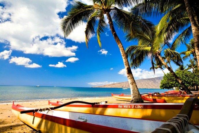 Kihei Beach, Maui (Credit: Hawaii Tourism Authority. Tor Johnson)