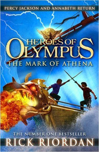The mark of athena (heroes of olympus book 3) is part of rick riordan's the heroes of olympus series. Taking off from where son of neptune left off, the book tells the story of greek and roman demigod