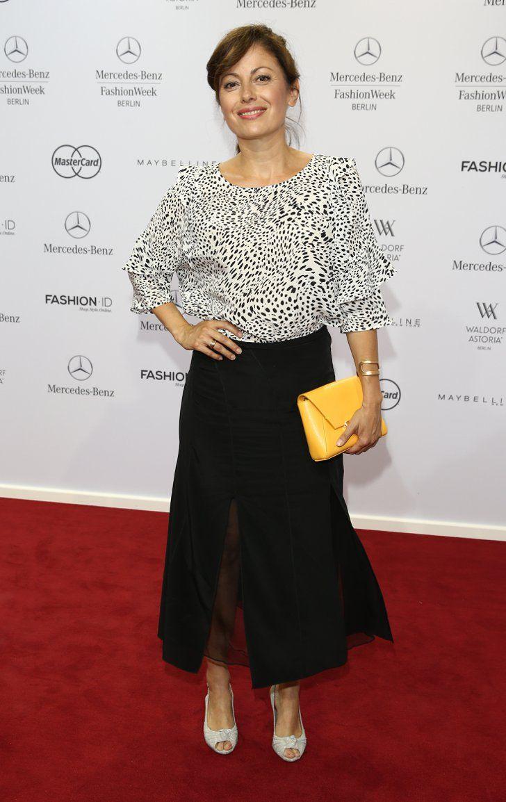 Pin for Later: Die Stars machen Berlin zum Mode-Mekka bei der Fashion Week Carolina Vera bei der Schau von Marc Cain