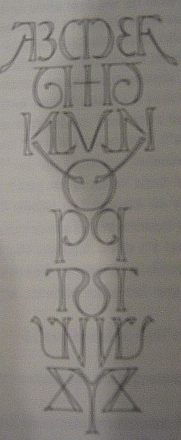 Mirror Alphabet: The Ambigrams of Douglas Hofstadter | Introspections