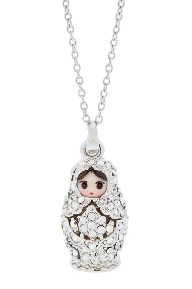Matryoshka Doll Necklace