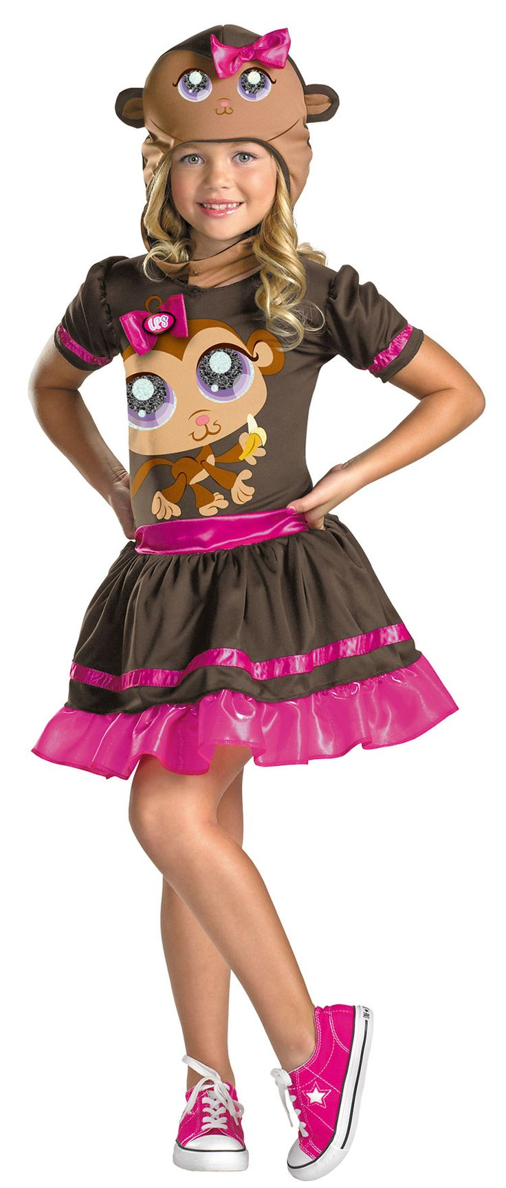 Littlest Pet Shop Monkey Kids Costume