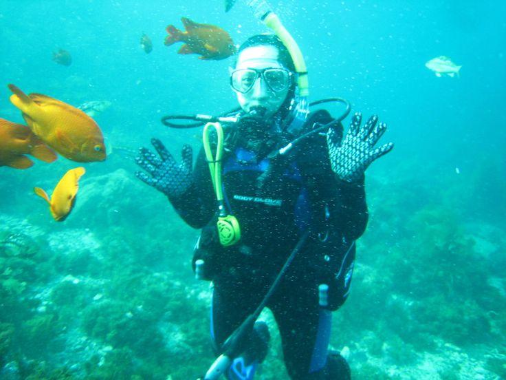 Hey you! #Diving #Santorini  #ScubaDiving