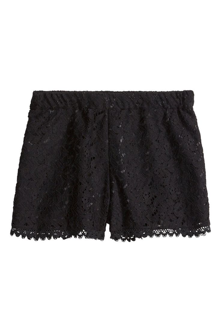 h&m lace sehorts 25