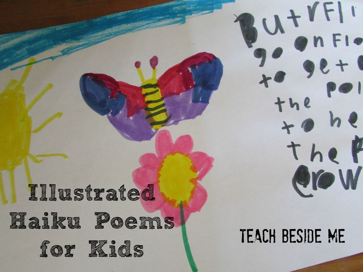 Haiku Poems With Kids - Teach Beside Me