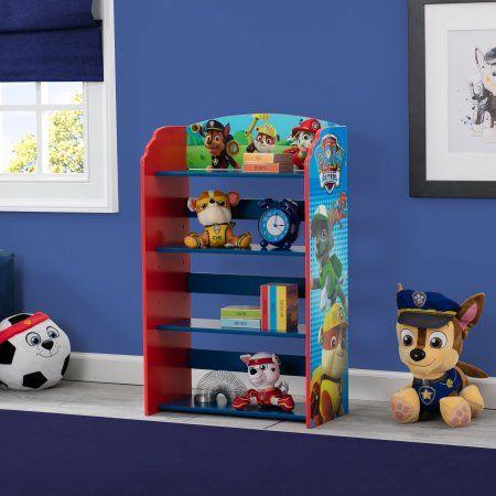 Delta Children Nick Jr PAW Patrol Bookshelf, Multicolor
