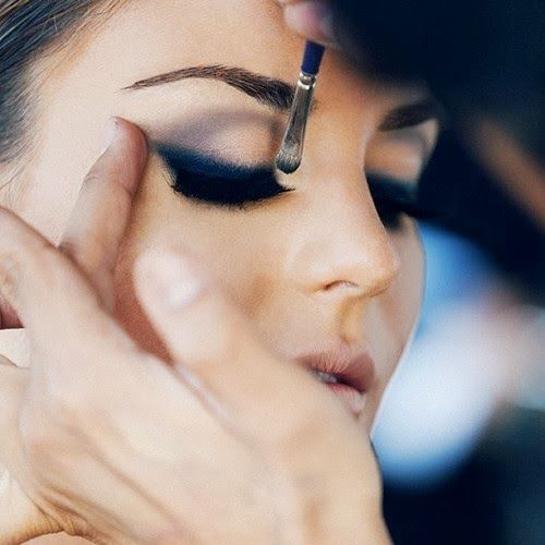 446 best beauty images on pinterest for Smokey eyes blau