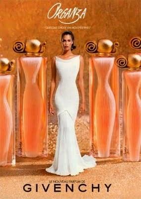 Givenchy Organza perfume ad