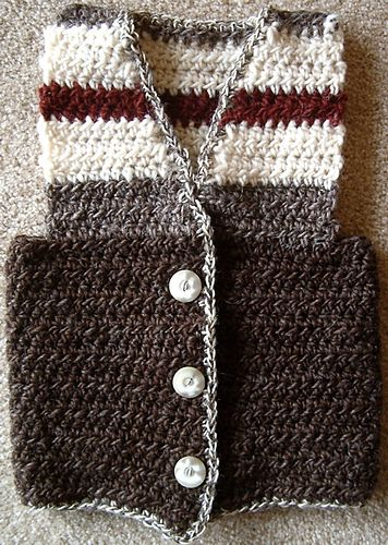 Ravelry: WW Crochet Vest pattern by Kimberly Turnbow
