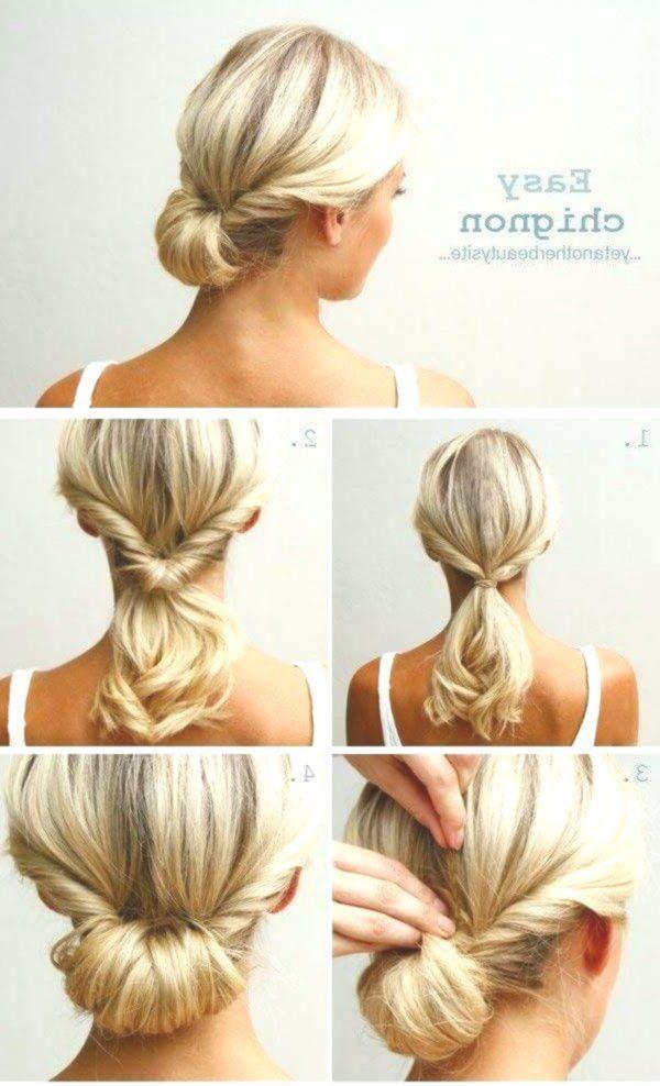 Classic And Sweet Hairstyle Ideas For Long Hair Chignon Hair Hair Styles Medium Hair Styles