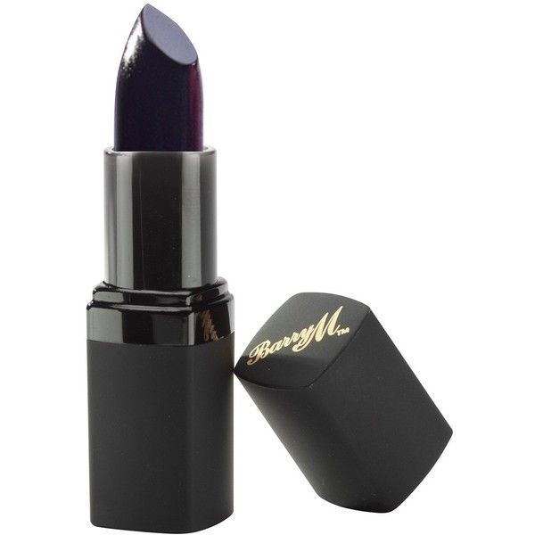 Amazon.com : Barry M Lip Paint Lipstick - Black 37 : Beauty (£4.27) ❤ liked on Polyvore featuring beauty products, makeup, lip makeup, lipstick, black lips makeup, barry m, barry m lipstick, lips makeup and lips lipstick