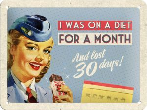 I was on a diet magneetti 3,50€