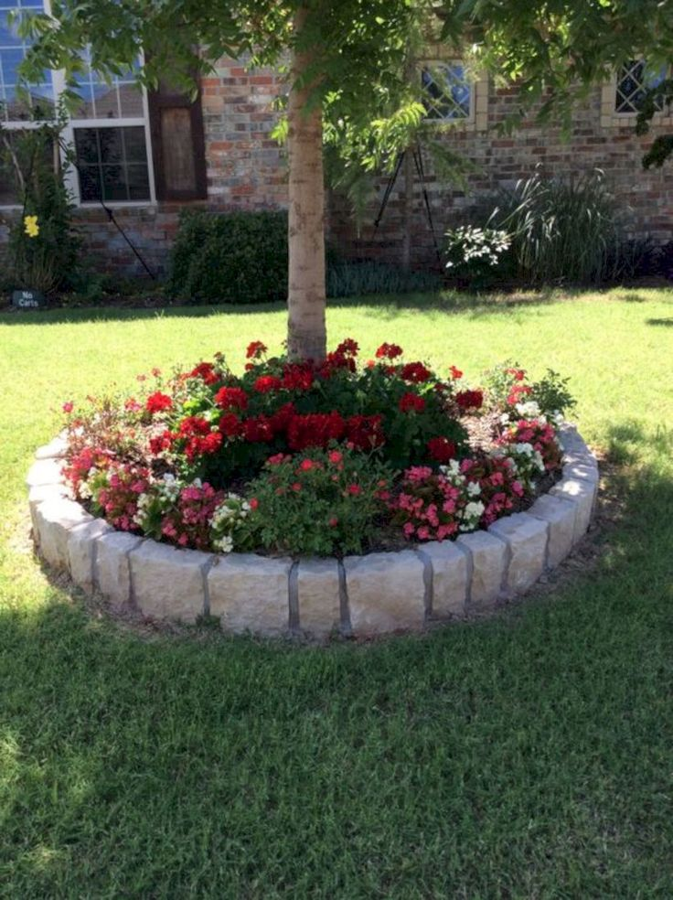 33 Gorgeous and Creative Flower Bed Ideas for Your Garden
