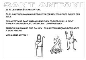 SANT ANTONI LLETRA PAL