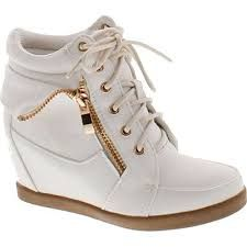 Image result for wedge sneakers for girls