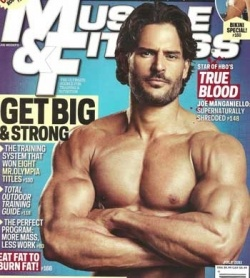 Joe Manganiello ..... uh......yum.