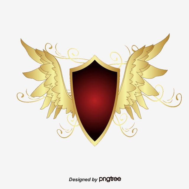 Wings Shield Wings Vector Shield Vector Shield Png Transparent Clipart Image And Psd File For Free Download Shield Vector Wings Vector