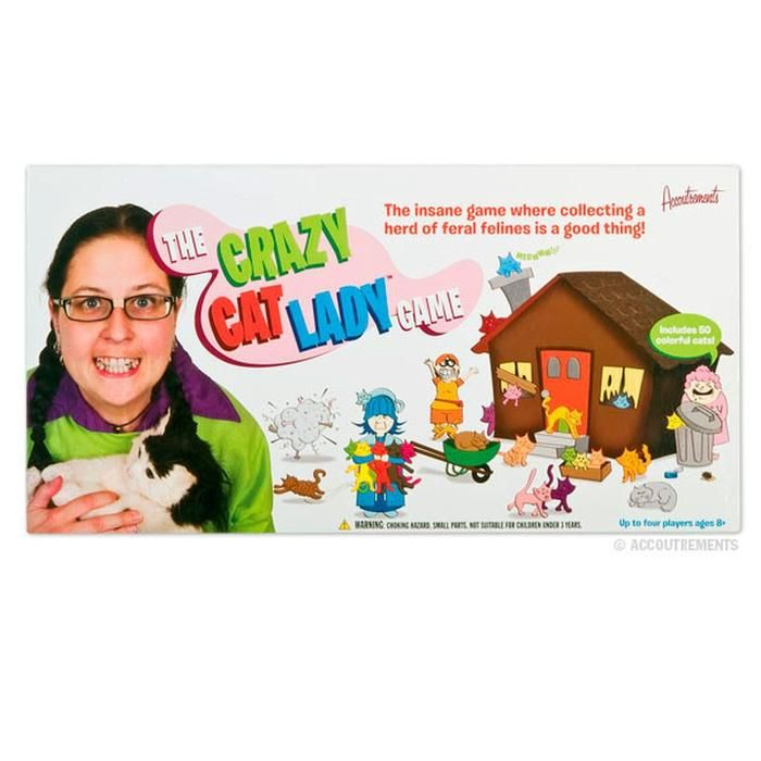 Crazy cat lady game-Weird-Funny-Gags-Gifts-Stuff