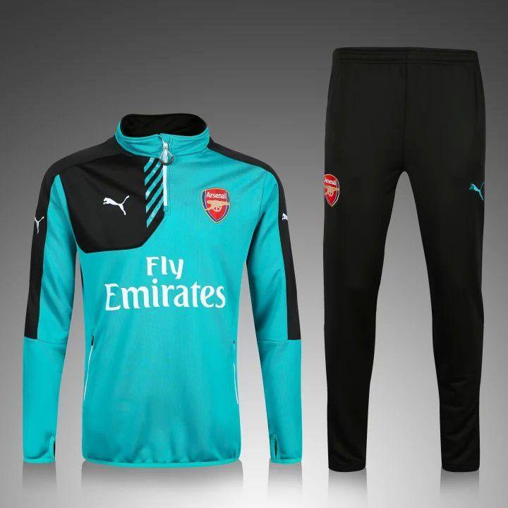 Arsenal 2016 Light Green Men Tracksuit Slim Fit