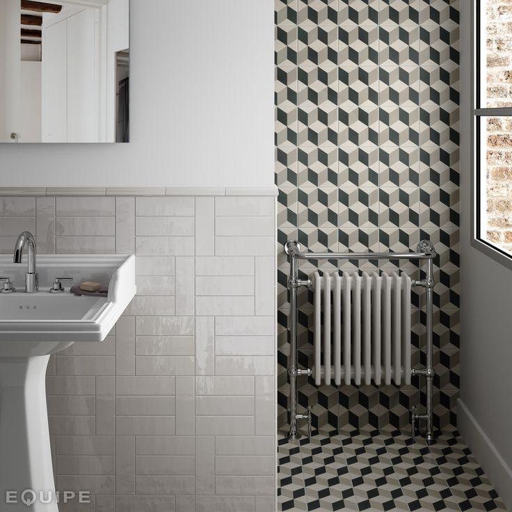 Country Gris Claro 6,5x20, Pencil Bullnose Gris Claro 3x20, Jolly Gris Claro 1,2x20 / Caprice Provence 20x20. #architecture, #architect, #bath, #bathroom tile, #ceramic tile, #ceramic tiles, #contemporary, #contractor, #design, #house, #interior design, #interior designer, #kitchen, #kitchen tile, #modern, #tile, #traditional, #brick, #vanguard, #modern, #traditional, #brick, #multiformat, #trend, #ceramics, #equipe, #equipe cerámicas