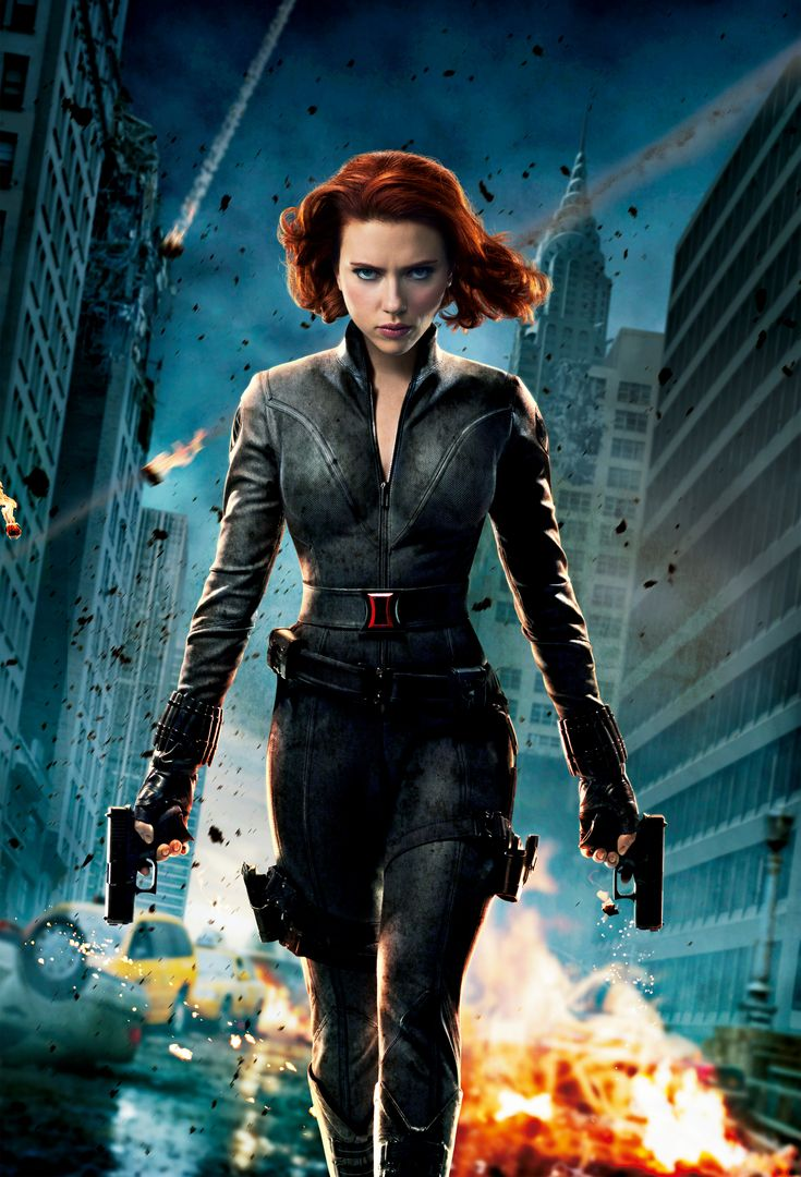 agent romanoff/ black widow: only female butt kicker, but ...