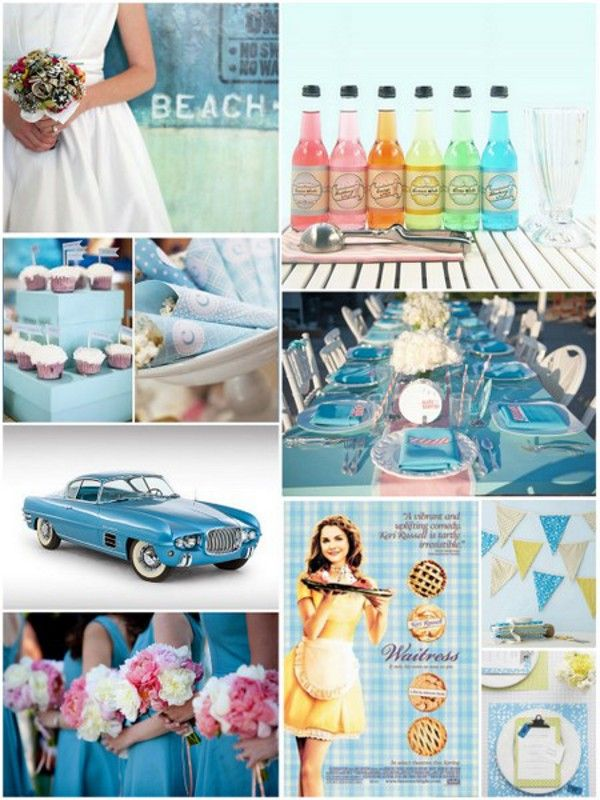 Retro Vintage Wedding Theme  #weddings #retro #vintage