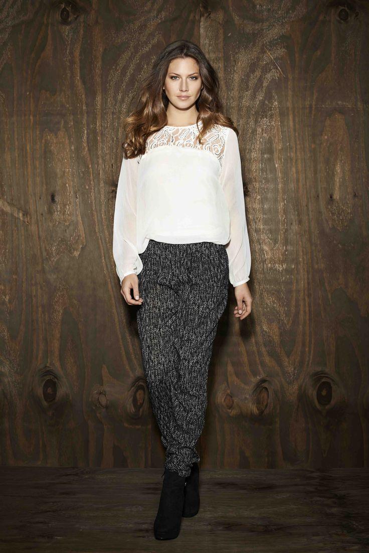 soyaconcept - shirt - blouse - pants - pattern - printet