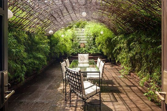 10 Jaw-Dropping NYC Apartments With Incredible Outdoor Spaces #refinery29  http://www.refinery29.com/nyc-apartments-outdoor-patio-balcony#slide-6  A mossy atrium makes for an idyllic Manhattan hideaway.