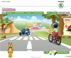 interaktivní program do dopravní výchovy