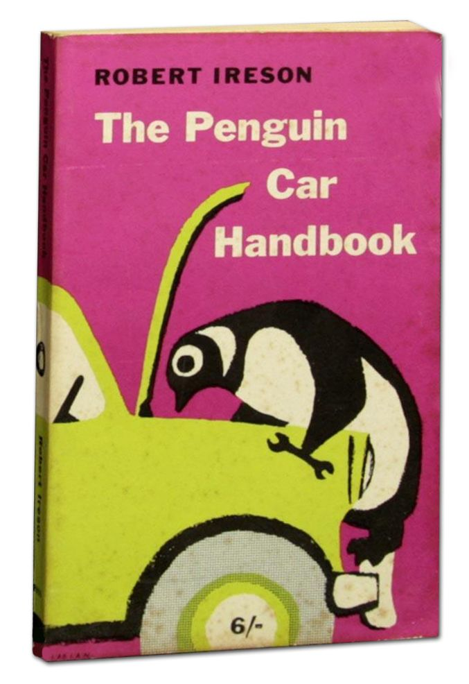 If I had this vintage car repair manual from penguin published in 1960 I think even I could find some joy in auto repair.