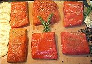 Salmon from Great Alaska seafood