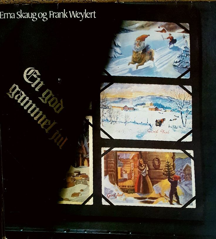 Vintage Norwegian Christmas album: En God Gammel Jul (A Good Old Christmas) by MusicAndMuse on Etsy