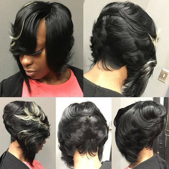 27 piece short hair styles invisible part bob with 27 in the back no hair out 2072 | e8f1a67a174e4031c9fbc19287d015aa