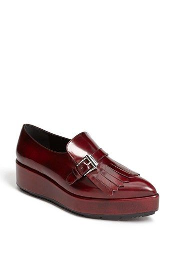Loving all these chunky loafers!  Go Prada!