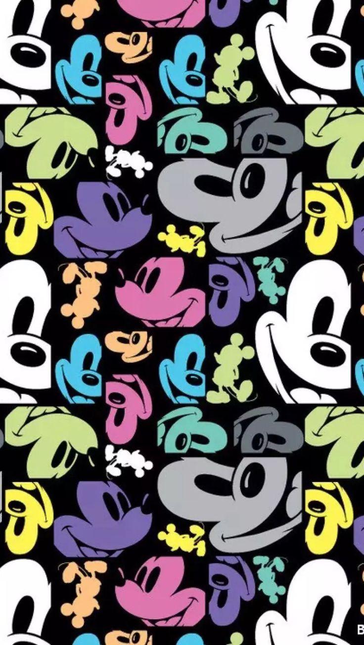 Mickey Wallpaper @lulypilo                                                                                                                                                                                 Mais