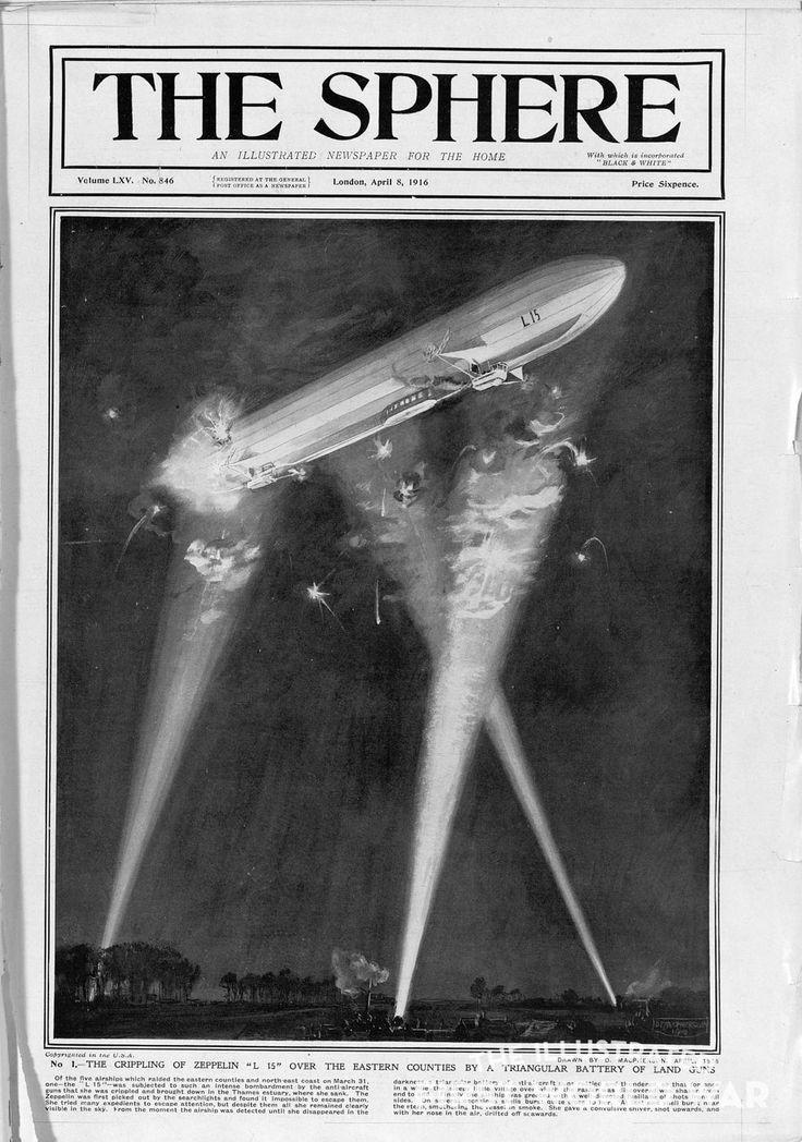 "Centenario 1914-1918 on Twitter: ""#AccaddeOggi 04-04-1916 Continua assalto Zeppelin sulla costa est britannica #GrandeGuerra https://t.co/A7tx8IgYbS https://t.co/vsRJEPw7Mv"""