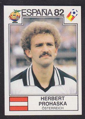 Panini - Espana 82 World Cup - # 139 Herbert Prohaska - Osterreich