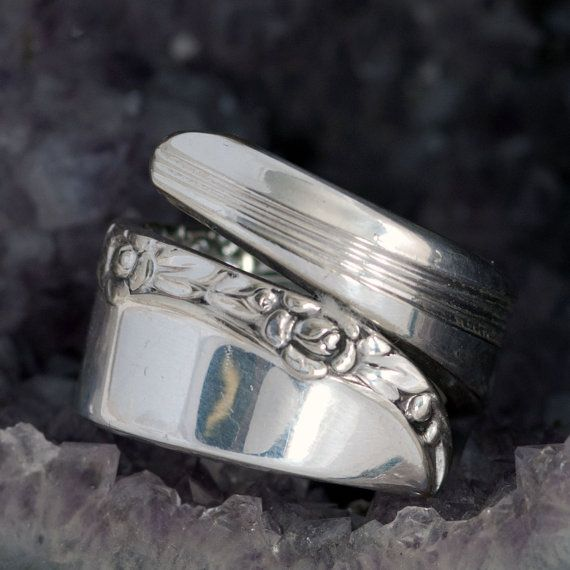 Brittany Rose Spoon Ring  Spoon Ring  Vintage Spoon by mcfmiller, $23.00