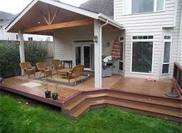 backyard covered patios and decks - Bing Images