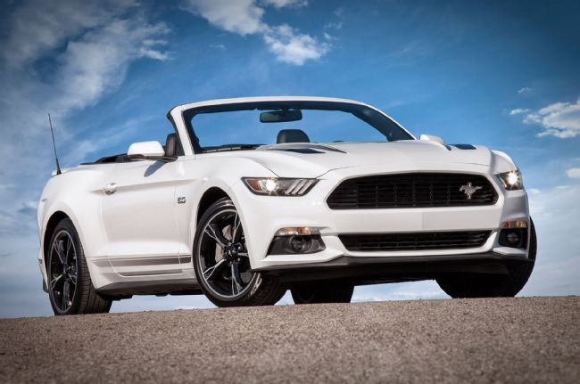 Ford Unveils 2016 Ford Mustang California Special, Plus All-New GT, EcoBoost and Convertible Features
